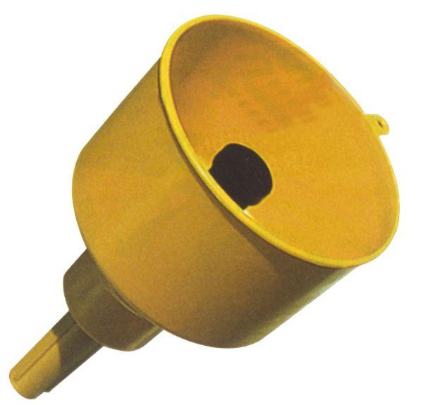 Benzintrichter m. Wasserabscheider