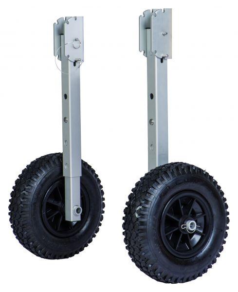 Traillerräder rostfrei, höhenverstellbar