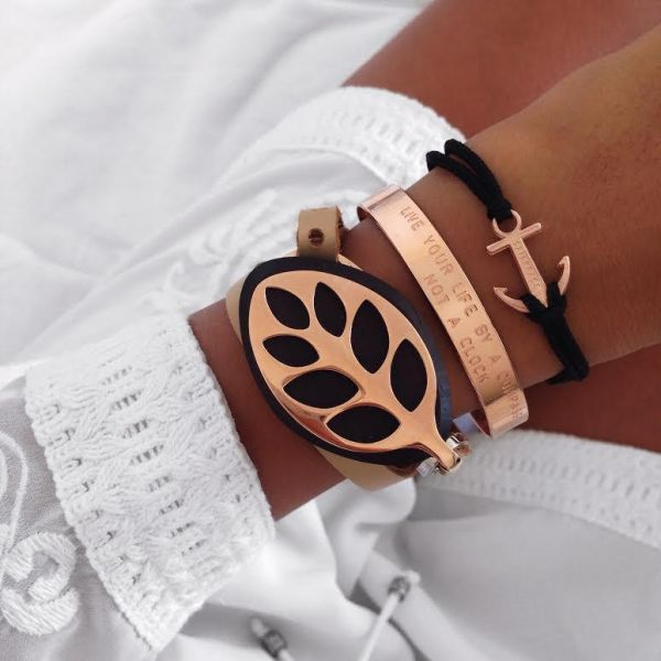 Armband Rosegold Collection, in 2 Modellen
