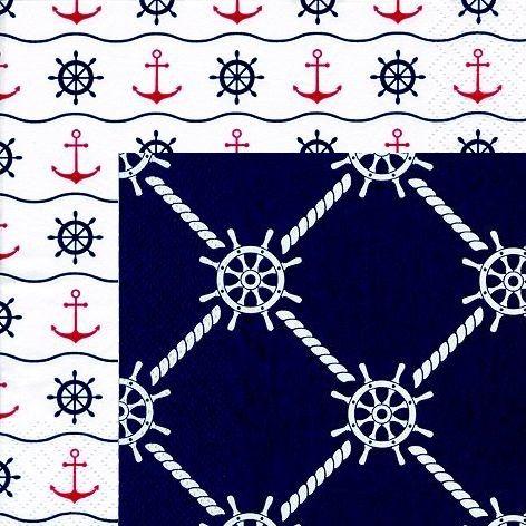 Servietten maritim