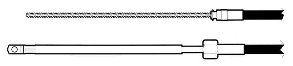 Uflex Lenkkabel M66 ab 60PS