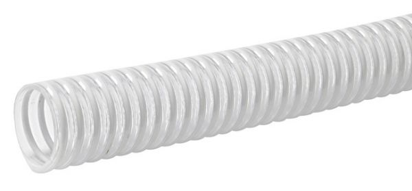 Ablaufschlauch mit Kunststoffspirale