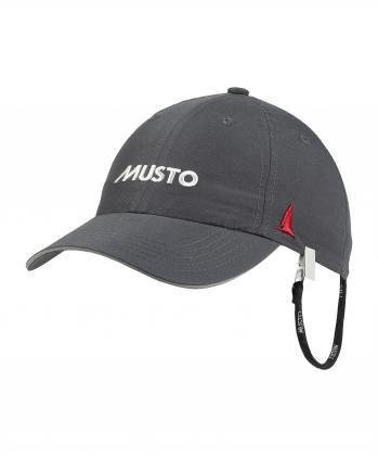 Musto Fast Dry Crew Cap dunkelgrau
