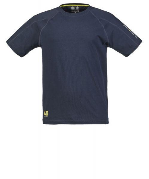 Musto Evolution Logo Shirt dunkelblau
