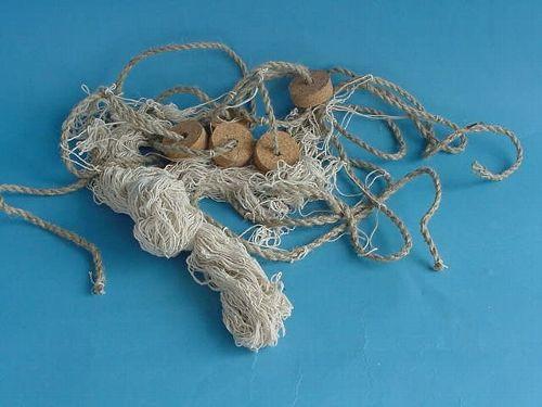 Fischernetz mit Korken