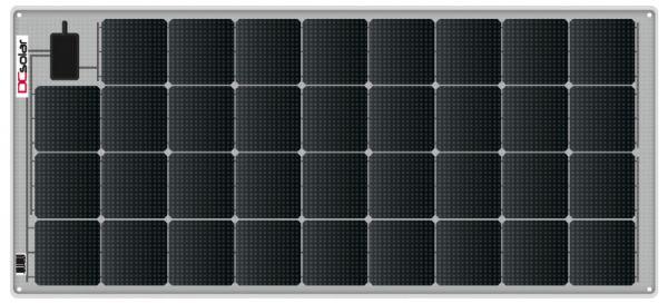 DCsolar Power Flex Modul