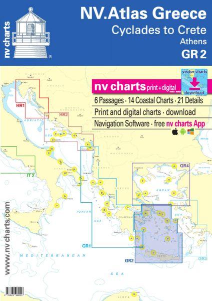 NV Seekarten Atlas GR2 Greece