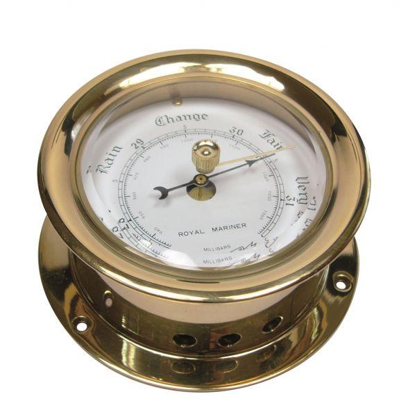 Barometer in Bullaugen-Optik