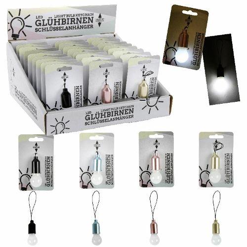 Schlüsselanhänger Glühbirne