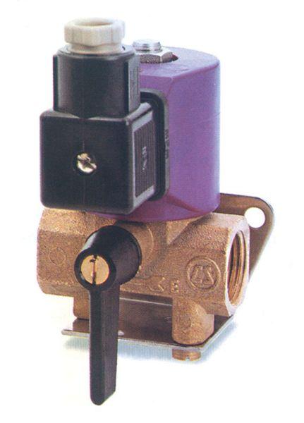 """Elektrisches Magnetventil mit 1/2"""" Innnengewinde 12V"""