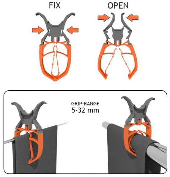 Befestigungsklammer Fix Clip