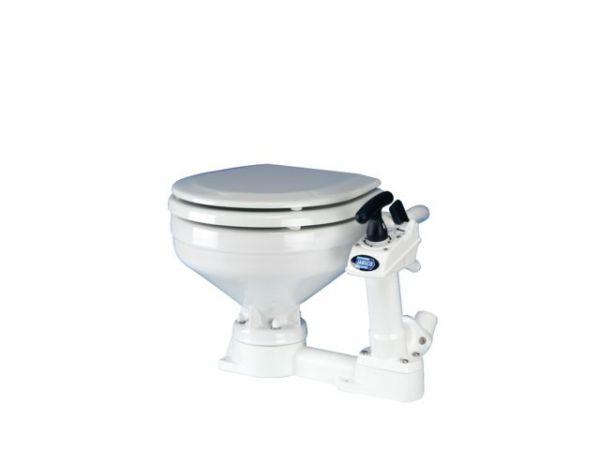 Jabsco-Toilette mit Handpumpe