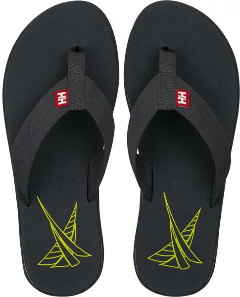 Helly Hansen Seasand Flip Flop grau/gelb
