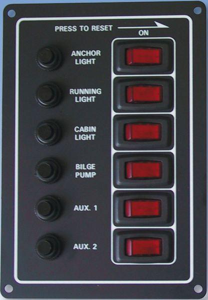 Automatik Schaltpaneel