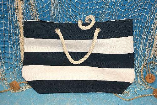 Strandtasche gestreift