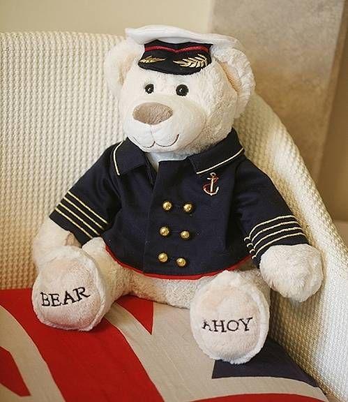 "Marine Teddy ""Ahoy"""