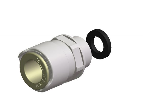 """Whale Adapter 3/8"""" AG 15 mm"""