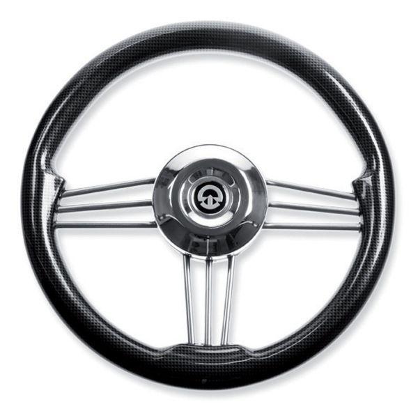 Riviera Steuerrad VS02 schwarz/carbon