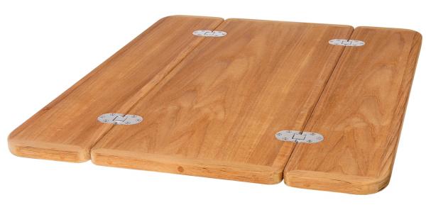 Teak Tischplatte klappbar Roca
