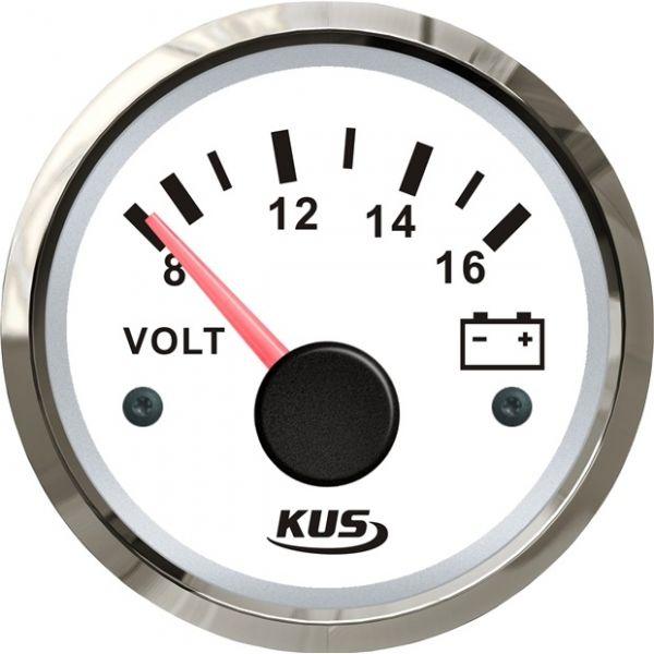 KUS Voltmeter 8-16 V