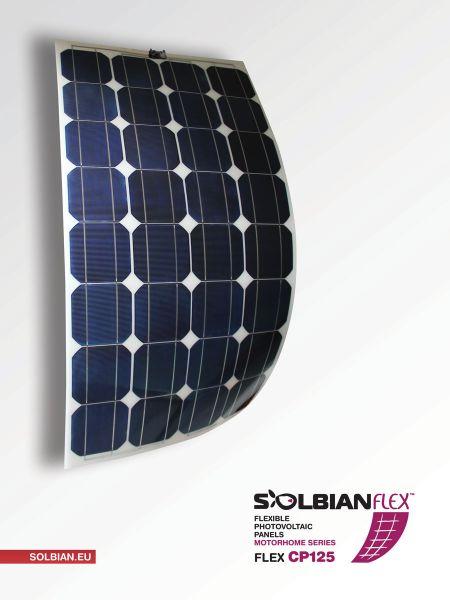Vollflexible Solarmodule von Solbian