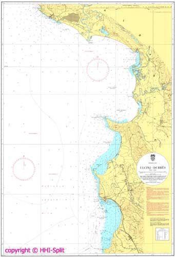 Seekarte Kroatien 100-30