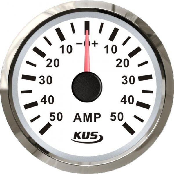 KUS Amperemeter +/- 80 Amp inkl. Shunt