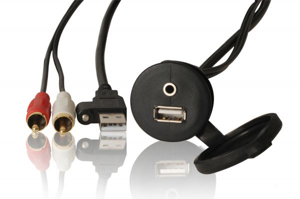 Fusion USB/AUX Adapterstecker MS-CBUSB3.5BooteB