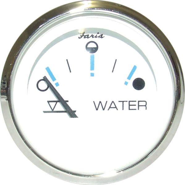 Faria Tankanzeige WATER EU