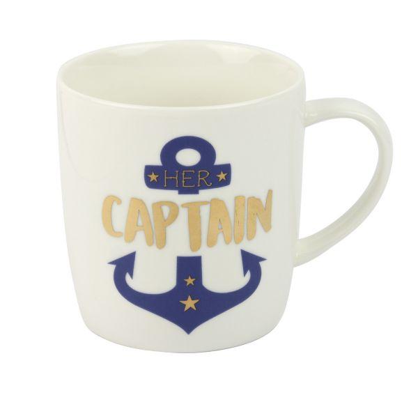 "Mugbecher ""Her Captain"""