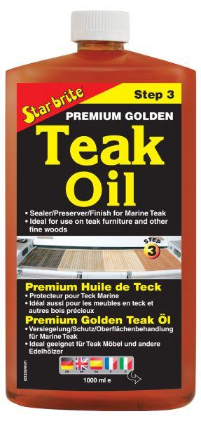 Star Brite Premium Golden Teak Oil Step 3