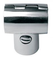 Niro-Handrelingsstück T 90° klappbar
