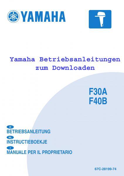 Yamaha Betriebsanleitung