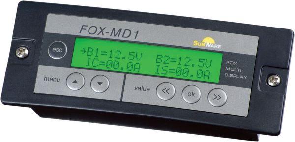 Sunware Laderegler Fernbedienung - Anzeige für FOX-320