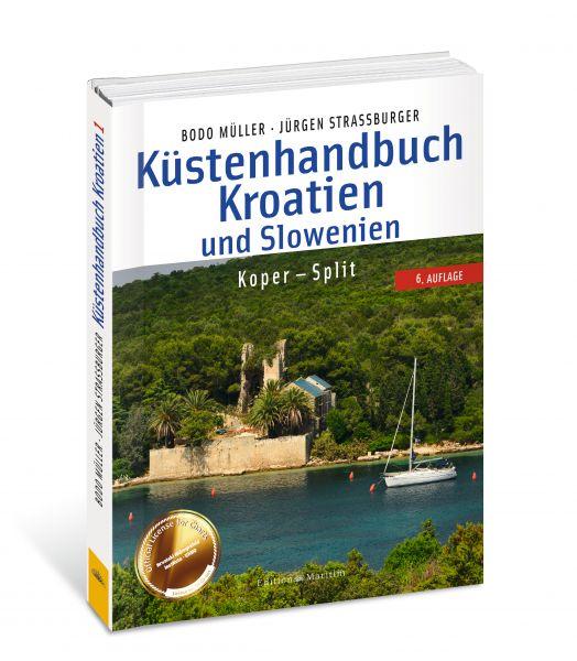 Küstenhandbuch Kroatien 1 und Slowenien Koper - Split