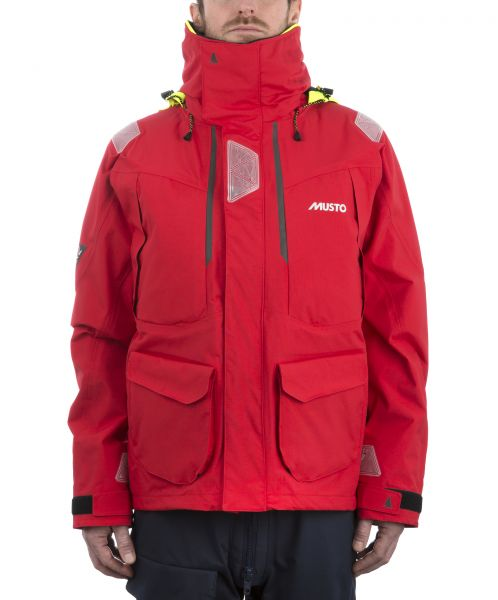 Musto BR2 Offshore Jacke rot