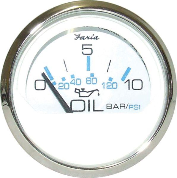 Faria Öldruckanzeige 0-10 bar