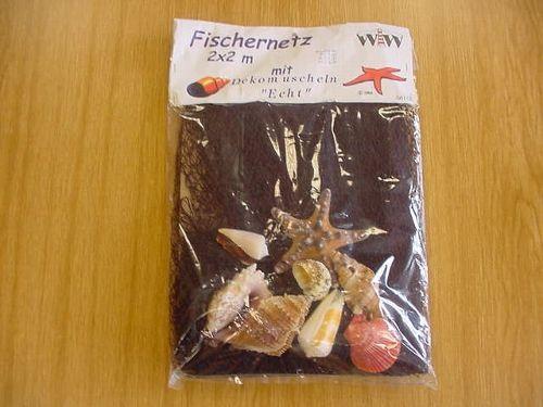 Fischernetz mit Muscheln