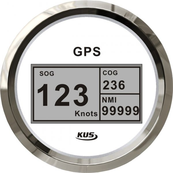 KUS GPS Speedometer digital mit Kompass